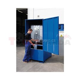 Закрит стелаж за 1 IBC контейнер - MEVA