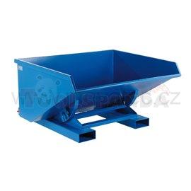 """Наклоняем контейнер """"PROFI"""" с двойно дъно-600л - MEVA"""