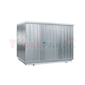 Еко склад за запалими вещества със затопляне - MEVA