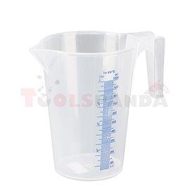 Пластмасова мерителна кана 1,0л - MEVA