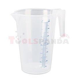 Пластмасова мерителна кана 3,0л - MEVA