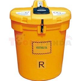 Резервоар за използвано готварско олио 200 л – Olivia free - MEVA