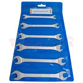 комплект гаечни ключове в пластмасов калъф - UNIOR