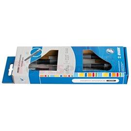 Комплект плоски отвертки за електроника 5 бр. - UNIOR