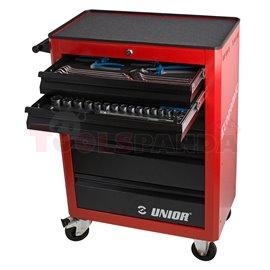 Комплект инструменти с инструментална количка 940ECO - UNIOR