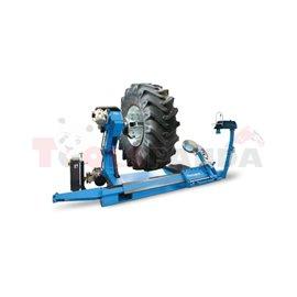 Машина за монтаж и демонтаж на тежкотоварни гуми | RAVAGLIOLI