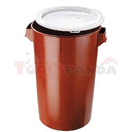 Пластмас. кошче за отпадъци с капак - 50L - MEVA