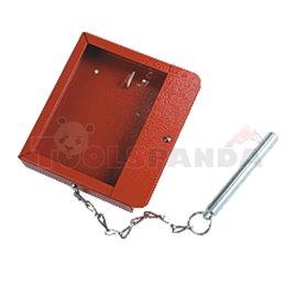 Аварийна кутия за ключове с чукче без заключване - MEVA