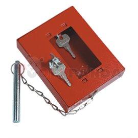 Аварийна кутия за ключове с чукче и заключване - MEVA