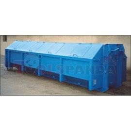 Закрит контейнер с интегрирани капаци 17 куб. метра | MEVA