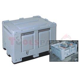Пластмасов контейнер 500L-без капак - MEVA