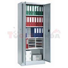 Универсален метален шкаф 80/40/195см - MEVA