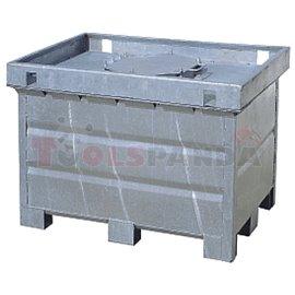 Двустеннен контейнер-500L - MEVA