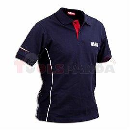 Тениска с къс ръкав и яка размер XXL