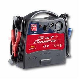 Уред за подаване на стртов ток 12V