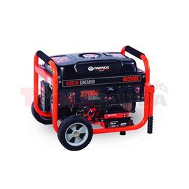Генератор бензинов 2500/ 2800W, 208CC, ел. старт | DAEWOO
