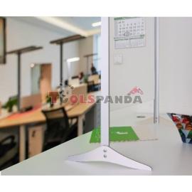 Защитна преграда за работа с клиенти поликарбонат 65х95см.