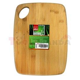 Дъска бамбук правоъгълна 19.8х14.5х0.9см.