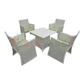 Мебели градински с възглавници Florence 5 части