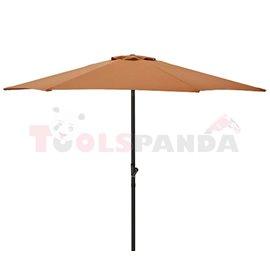Чадър градински 2.7м. оранжев