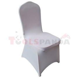 Еластант (калъф) за кетъринг стол бял A-04