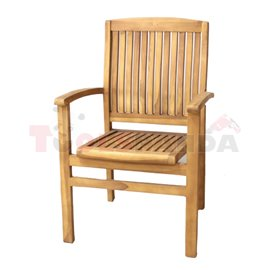 Стол градински 57х60х90см. Desmont JAVANESIA
