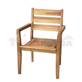 Стол градински 58х54.5х90см. Bermuda Marvel JAVANESIA