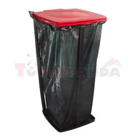 Стойка сгъваема за торба за отпадъци квадратна 60л. Quadra