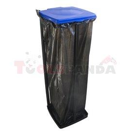 Стойка сгъваема за торба за отпадъци квадратна 120л. Quadra