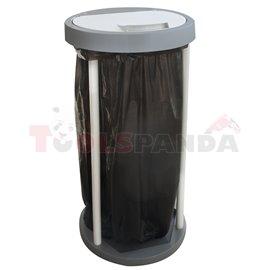 Стойка сгъваема за торба за отпадъци кръгла 120л. Profi