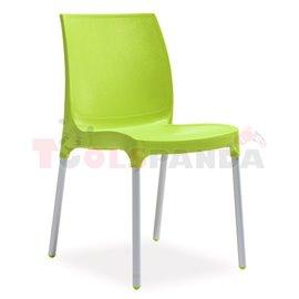 Стол градински зелен Sunny/Castle 42x58x82см.