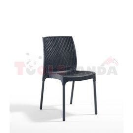 Стол градински антрацит Sunny rattan 45х56х84см.
