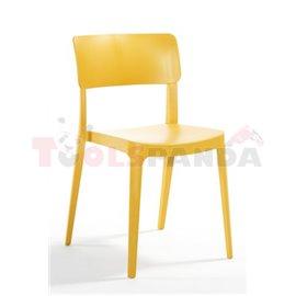 Стол градински жълт Pano