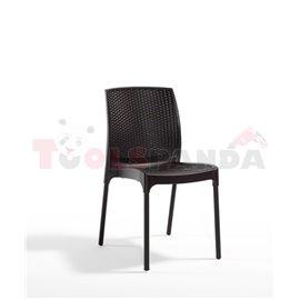 Стол градински кафяв Sunny rattan 45х56х84см.